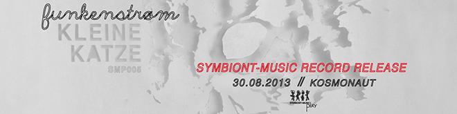 Funkenstrøm - kleine Katze - record release banner